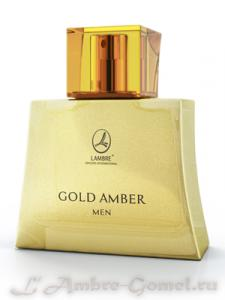 Lambre Original - Gold Amber Men